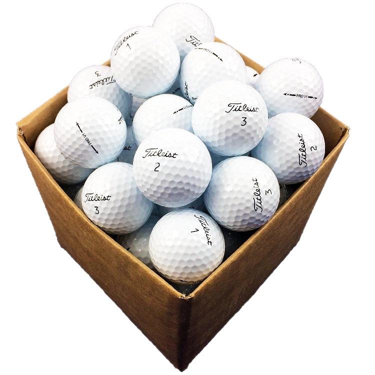 25 balles de golf titleist pro v1 reconditionn es le. Black Bedroom Furniture Sets. Home Design Ideas