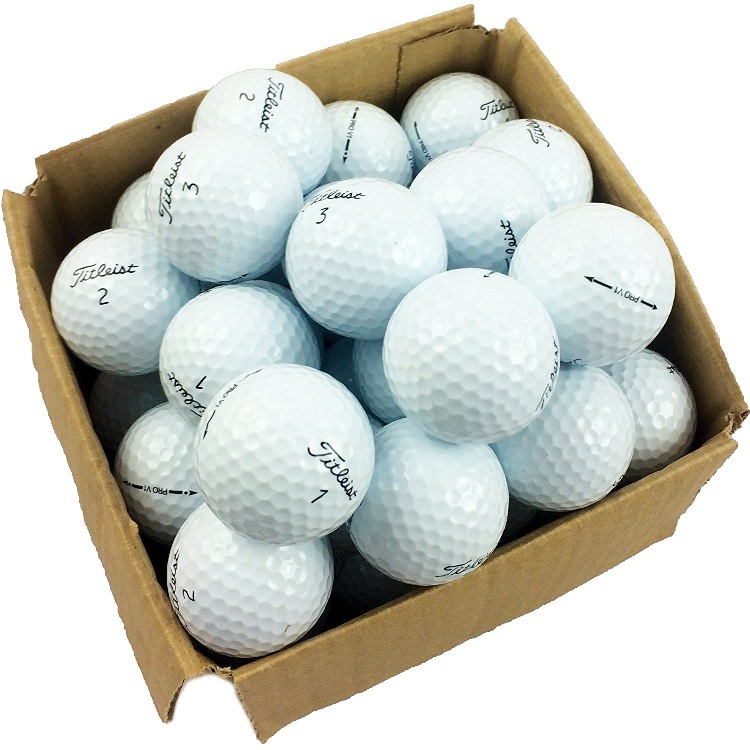 50 balles de golf d 39 occasion titleist pro v1 le meilleur du golf. Black Bedroom Furniture Sets. Home Design Ideas