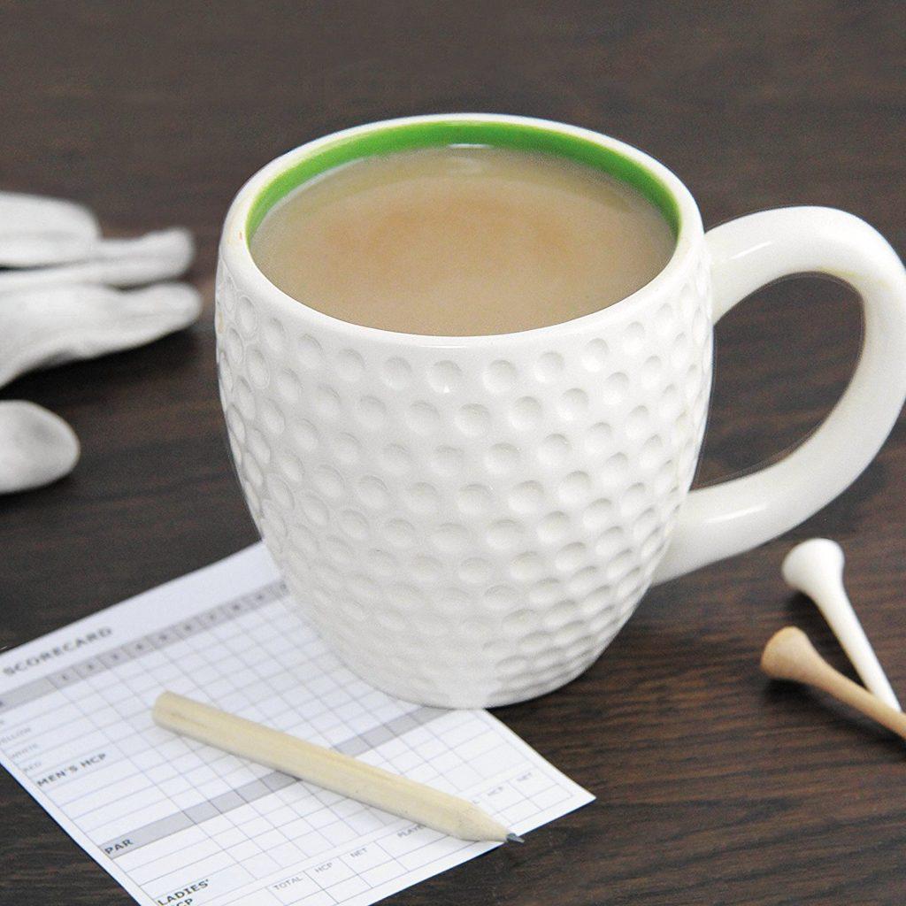 Mug Tee Time Tasse Blanche Cadeau Golfeur