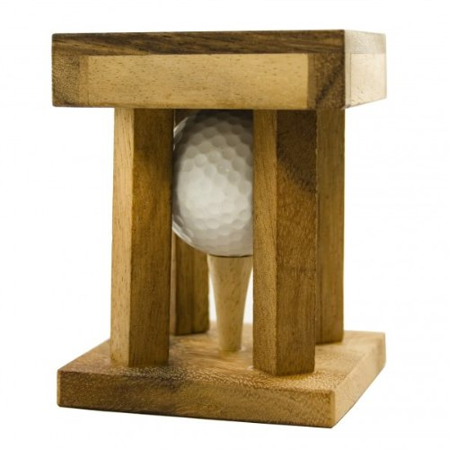 puzzle casse t te golf en bois id e cadeau golf. Black Bedroom Furniture Sets. Home Design Ideas