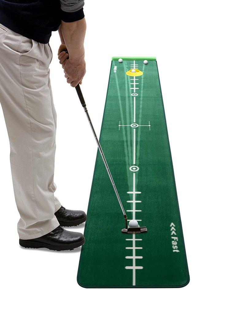Tapis d'entraînement au putting Best - Cadeau Golf