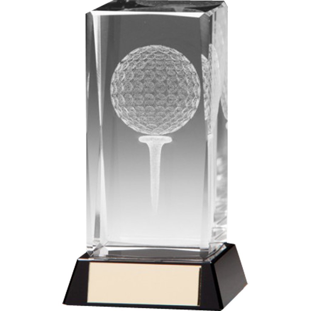 Trophée de golf Transparent - Cadeau Passionné de golf