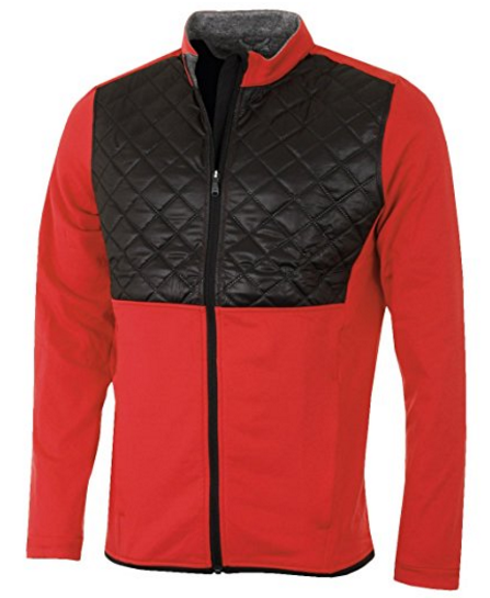 Veste de golf Adidas Rouge - Cadeau Golfeur