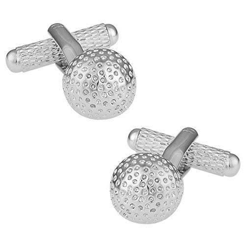 Boutons De Manchette Balles de golf Cadeau Fan de Golf