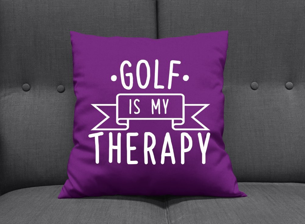 Coussin pour la maison cadeau golf original for Cadeau pour la maison