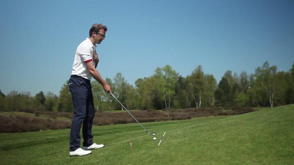 Leçon de golf Comment jouer dans les pentes