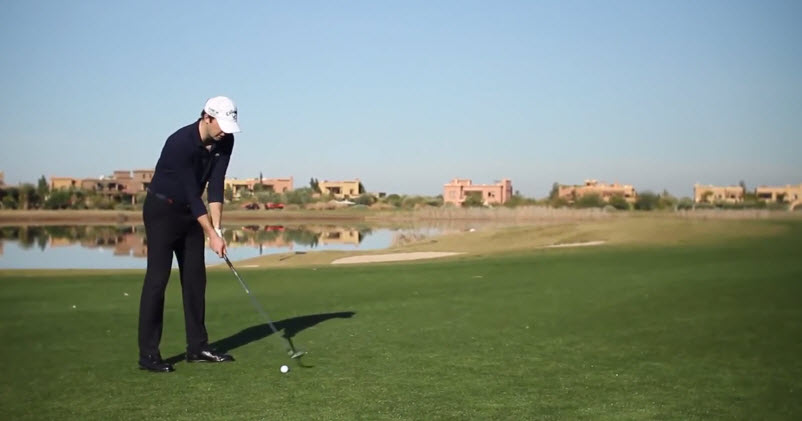 Leçon de golf sur l'importance du waggle