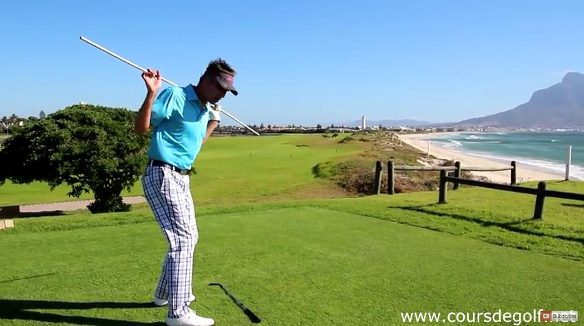 La rotation des épaules pendant le swing de golf