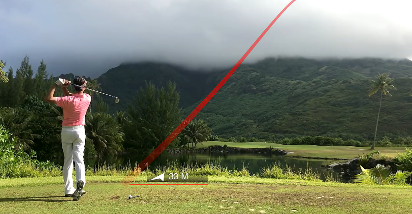 Comment compresser la balle au golf?