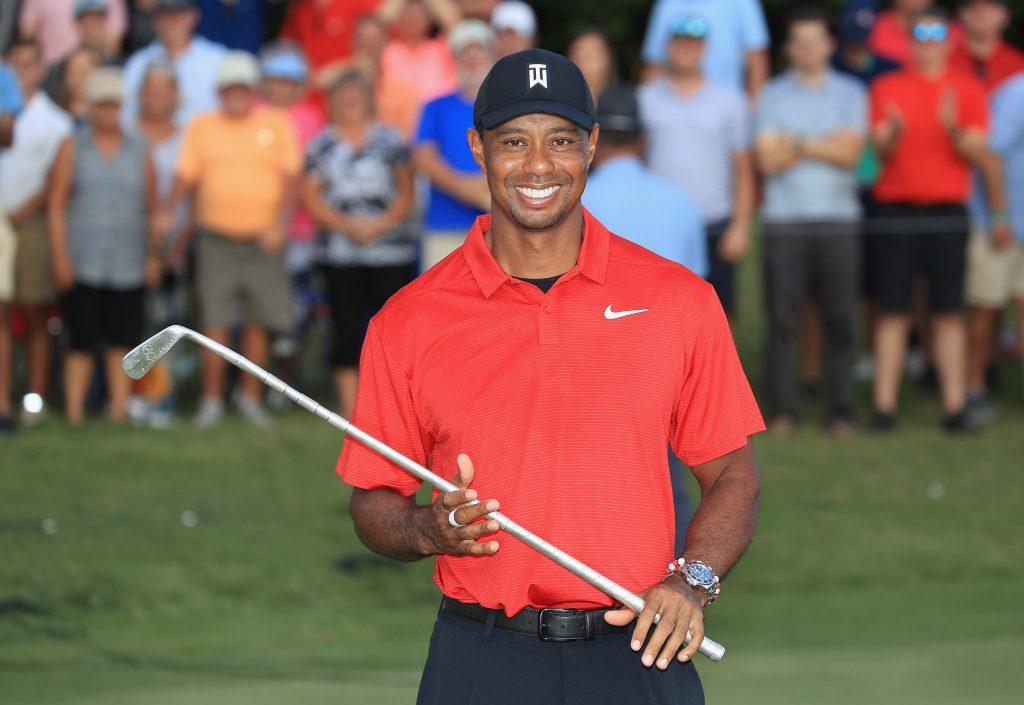 Tiger Woods remporte sa 80ème victoire 5 ans après