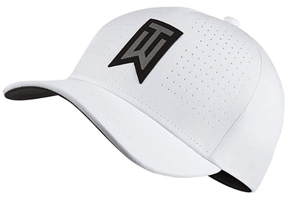 casquette Tiger Woods blanche