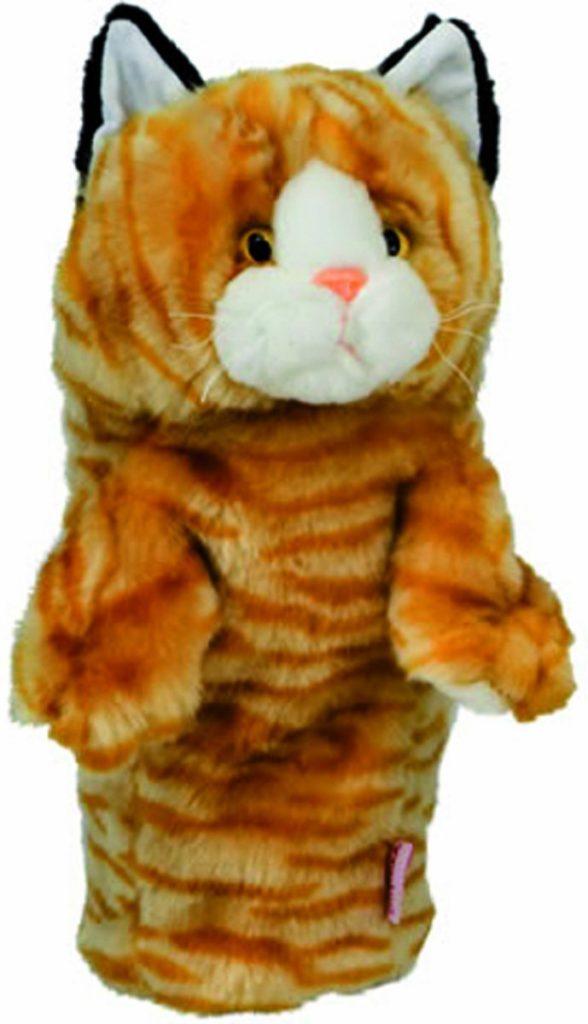 couvre-bois golf chaton roux capuchon drvier