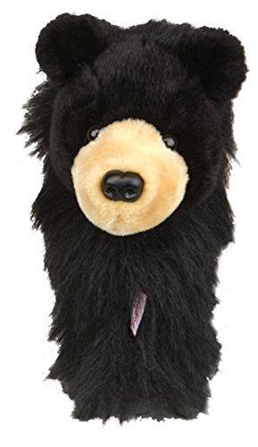couvre-bois-golf-ours-noir