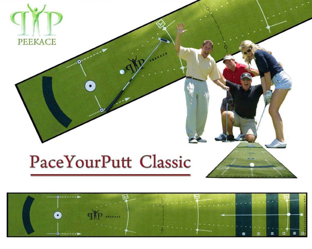 tapis entrainement putting cadeau golf
