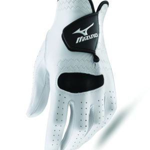 Gant de golf en cuir pour homme Mizuno Golf 2013 Retroflex Pro Blanc Noir 2cc26bb6eb7