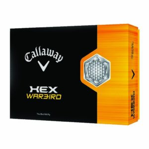 Pack de 12 balles de golf Callaway Hex Warbird