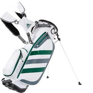 Sac de golf Adidas Clutch Carry Blanc Vert Gris