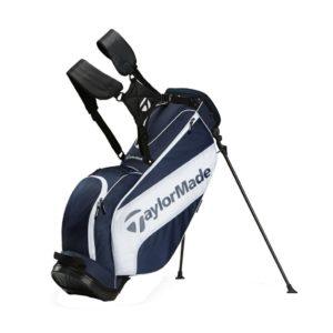 Sac de golf TaylorMade Stand 3.0 Bleu et Blanc