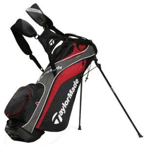 Sac de golf TaylorMade TourLite Rouge Noir Gris