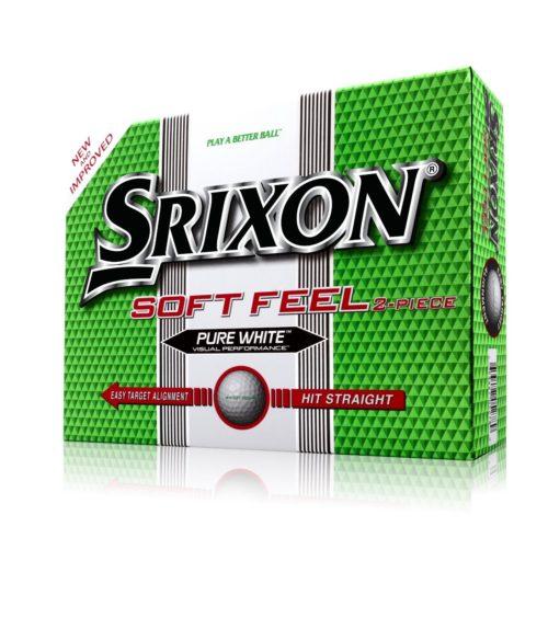 Srixon Soft Feel Balles de golf pour homme