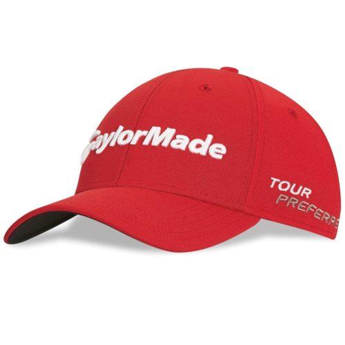 Casquette de golf Taylormade Tour Preferred rouge