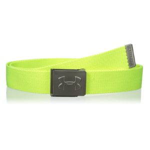 Ceinture de golf Under Armour en Toile jaune