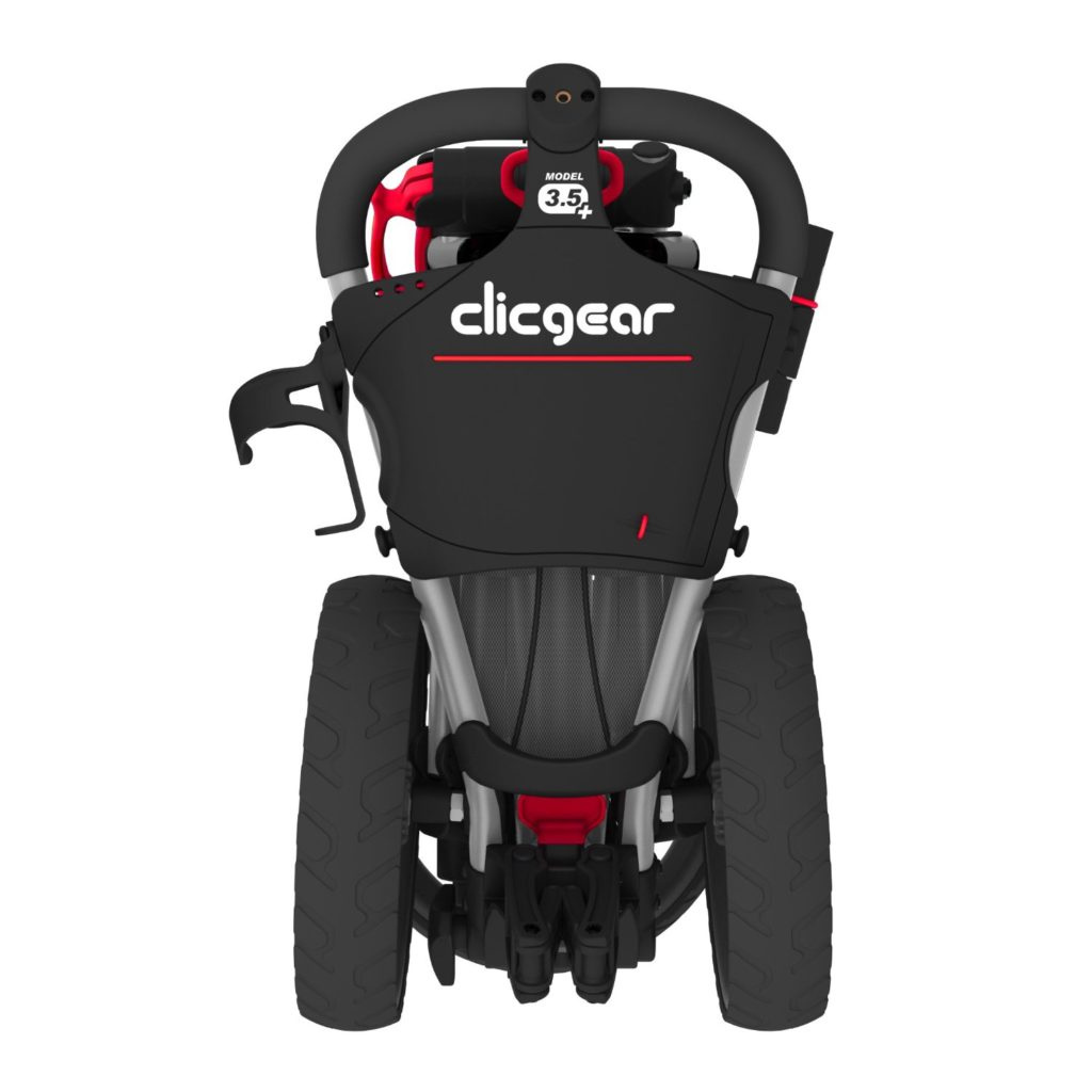 chariot de golf clicgear 3 roues pliable le meilleur du golf. Black Bedroom Furniture Sets. Home Design Ideas