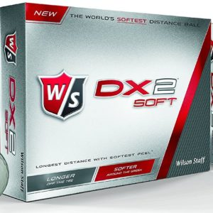 12 Balles de golf Wilson Staff DX2 Soft Distance 2015