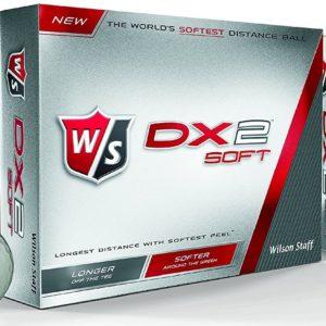12 Balles de golf Wilson Staff DX2 Soft Distance 2015