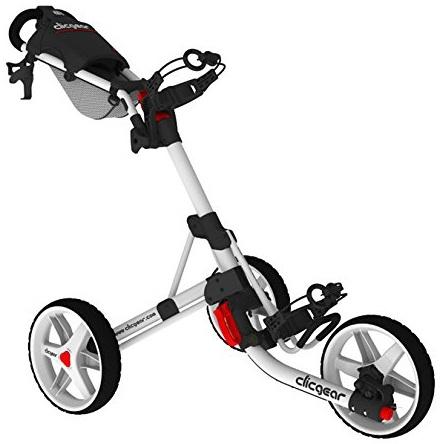 chariot de golf clicgear 3 5 3 roues le meilleur du golf. Black Bedroom Furniture Sets. Home Design Ideas