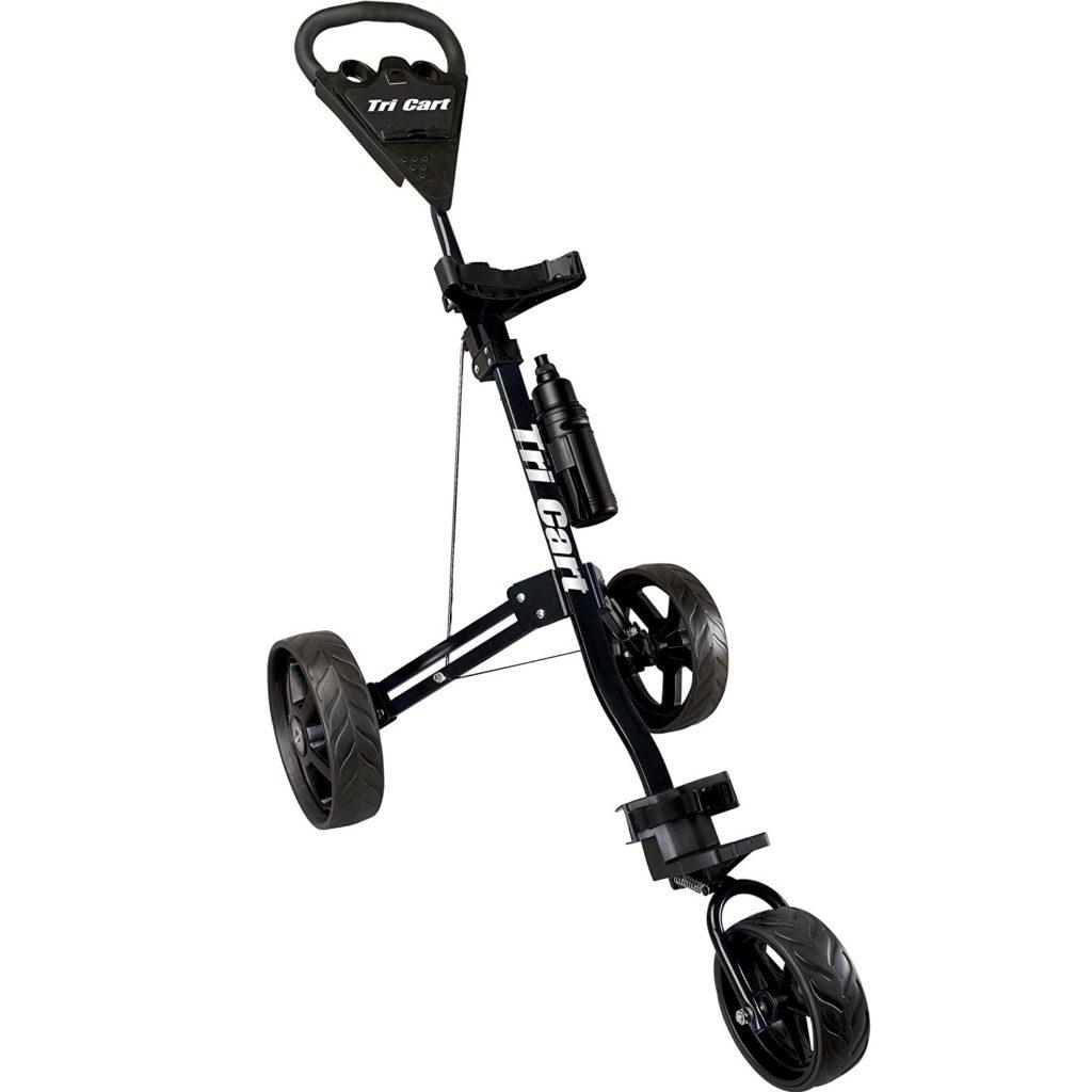 chariot de golf longridge tri cart 3 roues le meilleur du golf. Black Bedroom Furniture Sets. Home Design Ideas