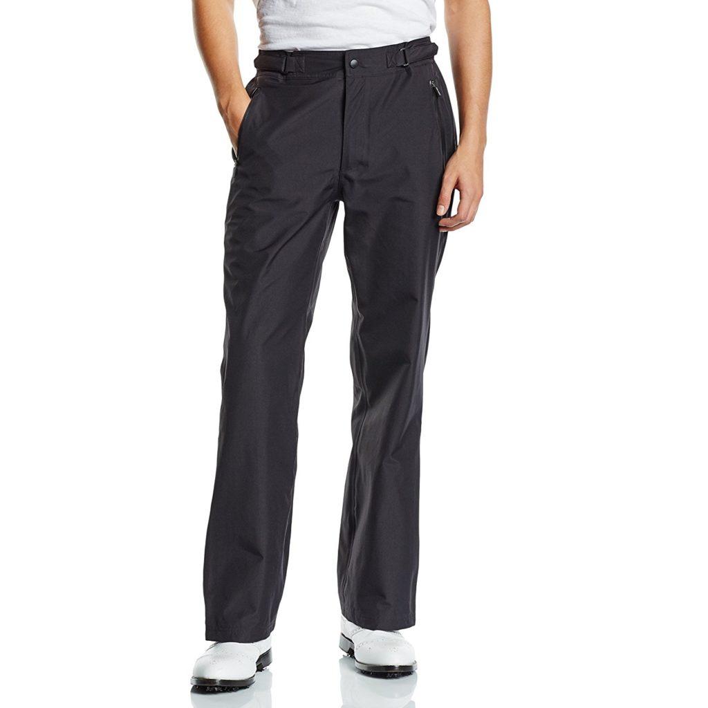 pantalon de golf imperm able wilson noir le meilleur du golf. Black Bedroom Furniture Sets. Home Design Ideas