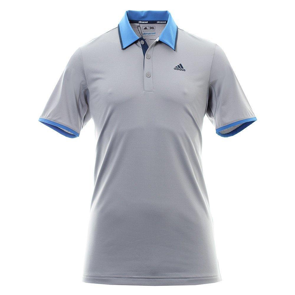polo de golf adidas climacool performance gris le meilleur du golf. Black Bedroom Furniture Sets. Home Design Ideas