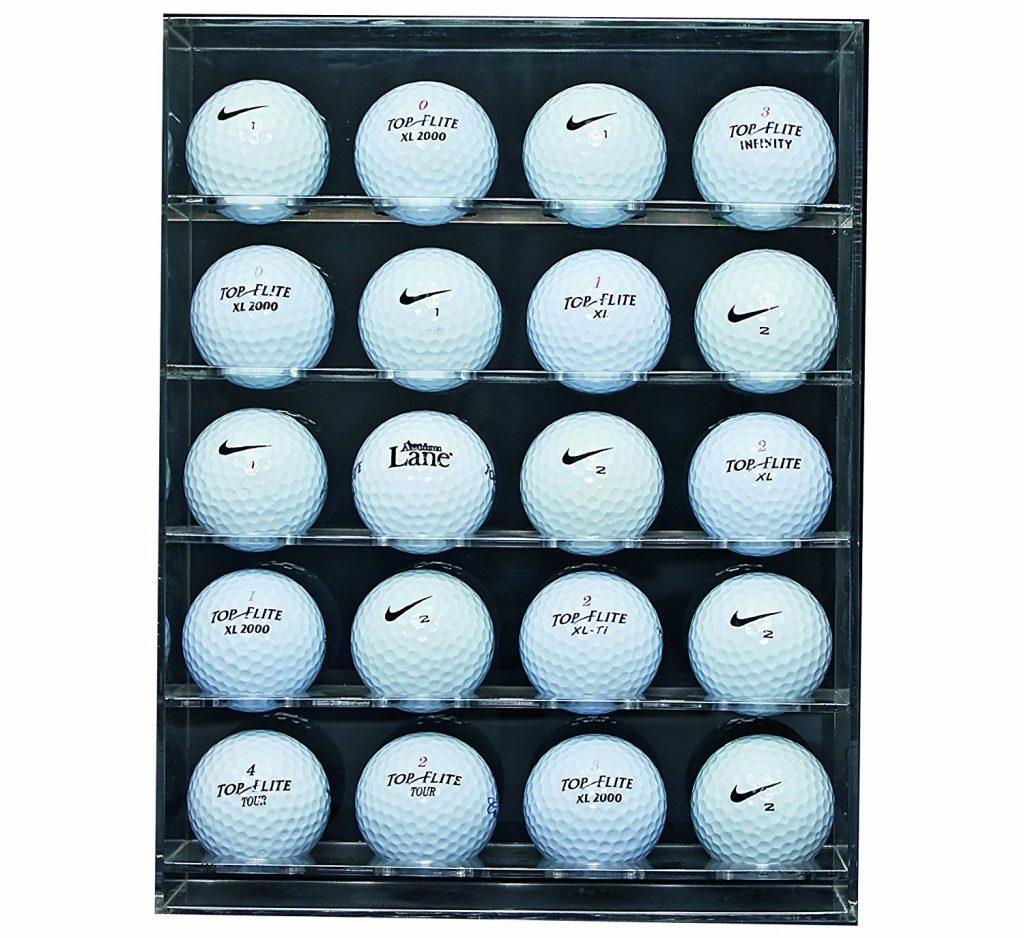 Présentoir Balles de golf Clair - Idée Cadeau Golf
