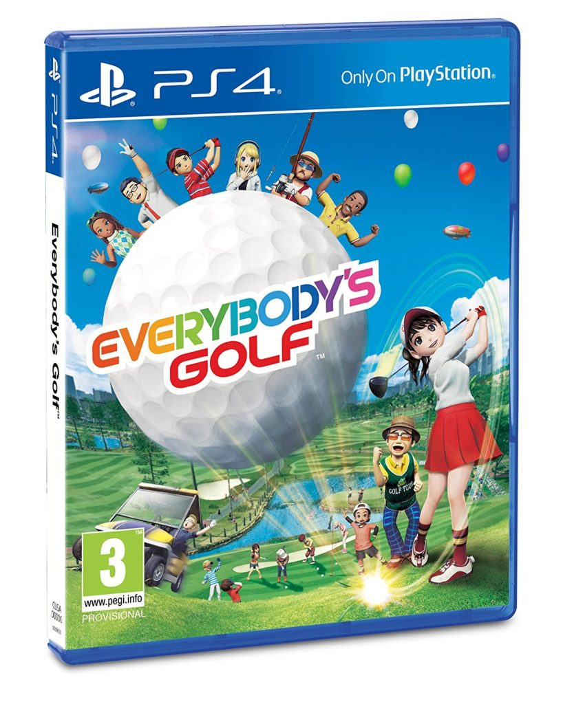 Jeu de golf Everybody's Golf PS4 Cadeau Noël Golf