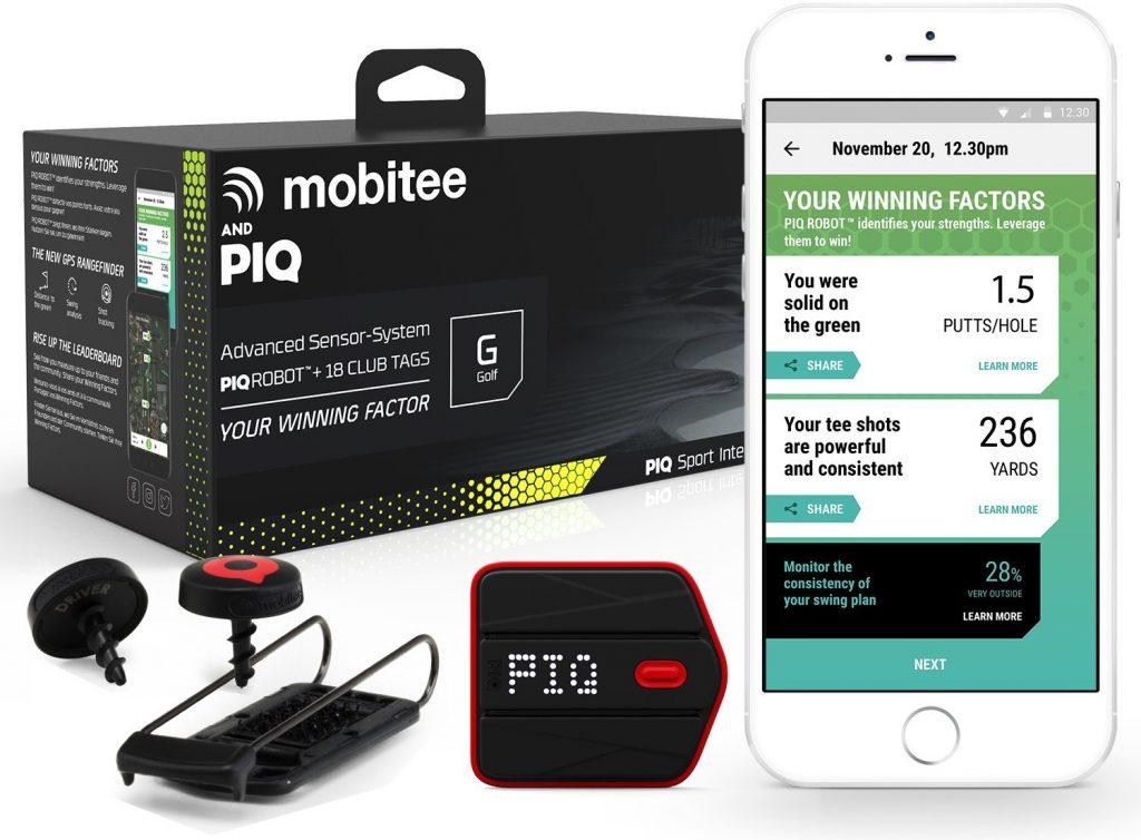 Mobitee PIQ Capteur ConnectéGolf