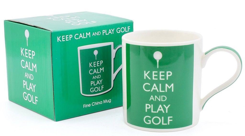 Mug Keep Calm and Play Golf Idée Cadeau