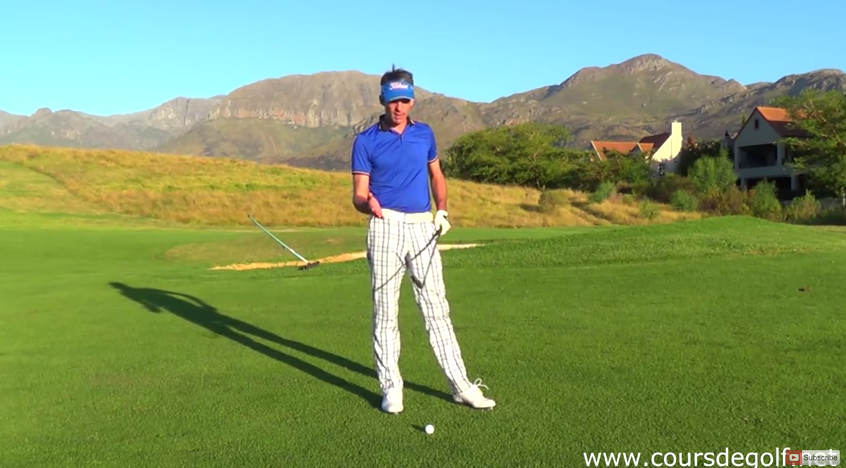 Comment faire du backspin au golf