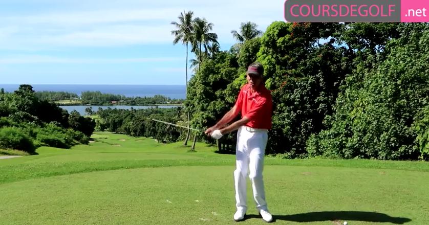 Cours de golf sur la coordination dans le swing