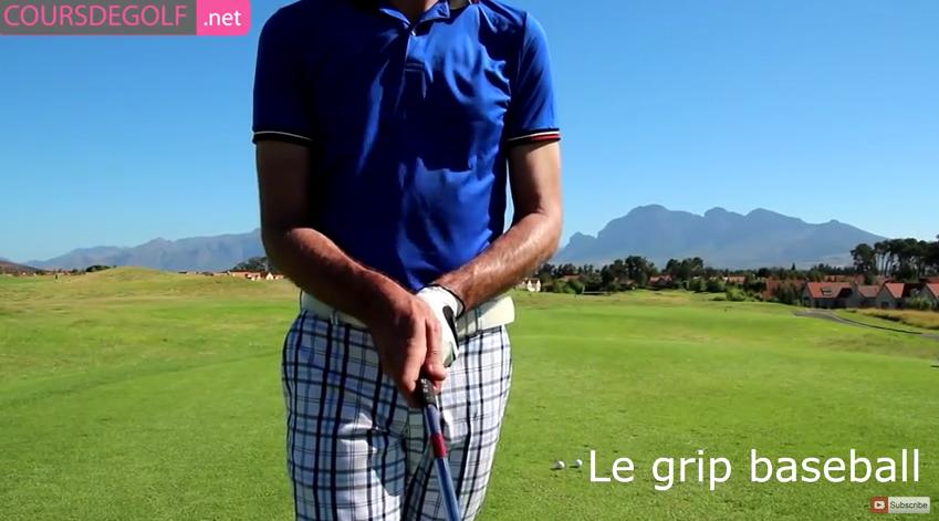 Leçon de golf sur le fondamental grip