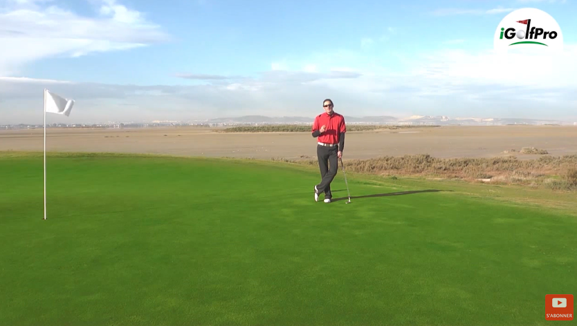 Leçon de golf sur les approches lobées