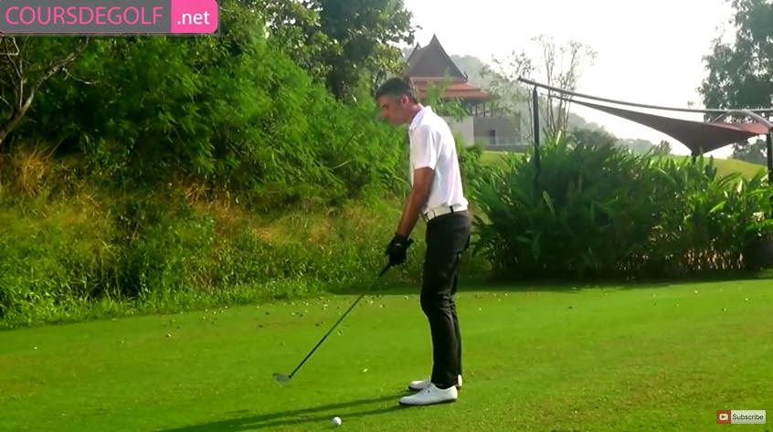 Leçon de golf sur l'utilisation des bois de parcours