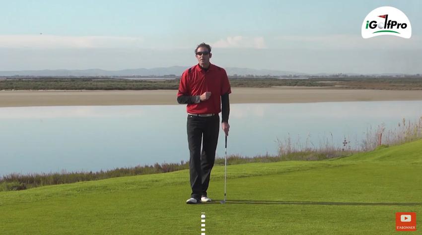 Leçon pour mieux s'aligner sur les parcours de golf
