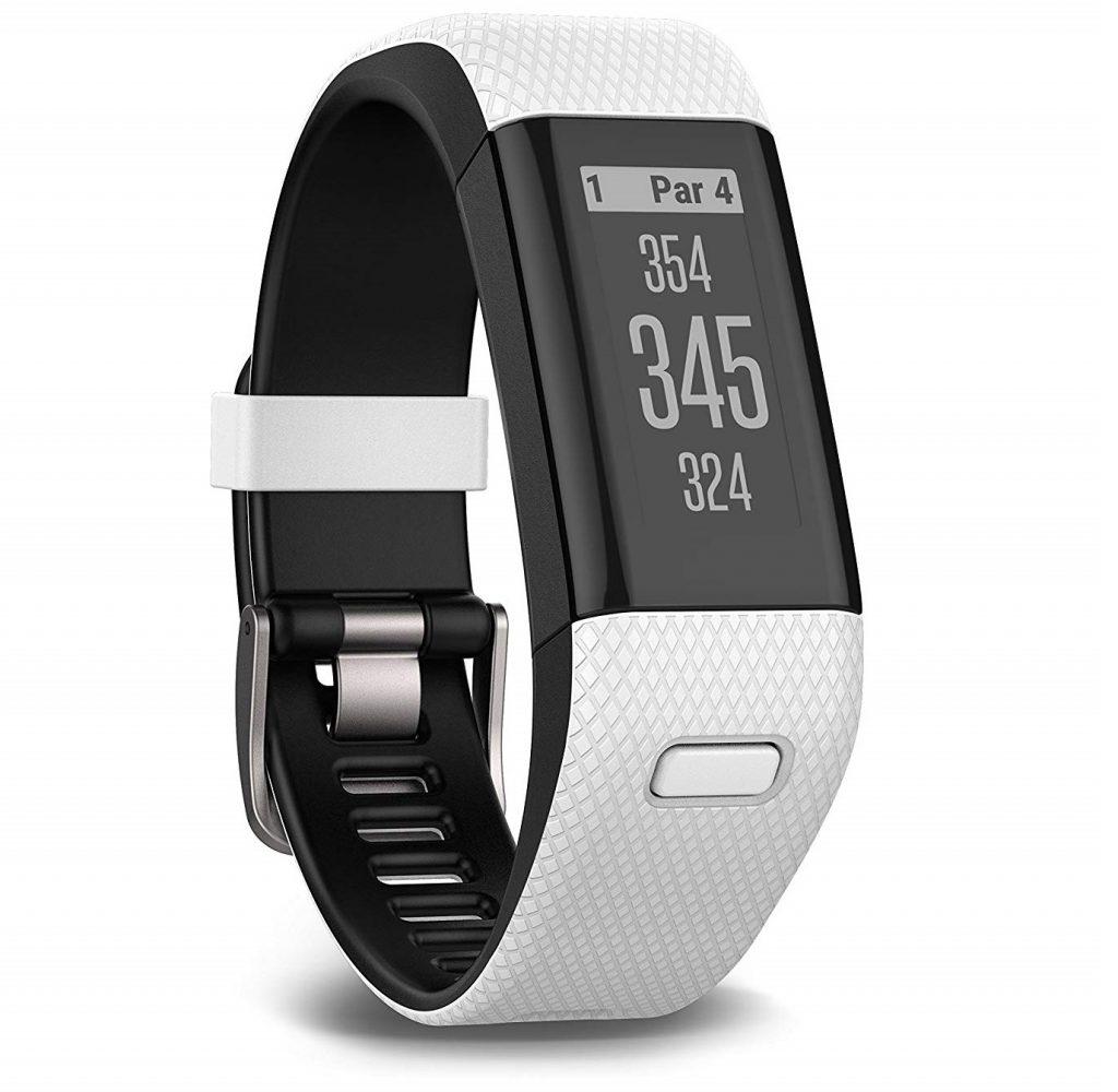 Le bracelet de golf Garmin Approach X40 Blanc et Noir