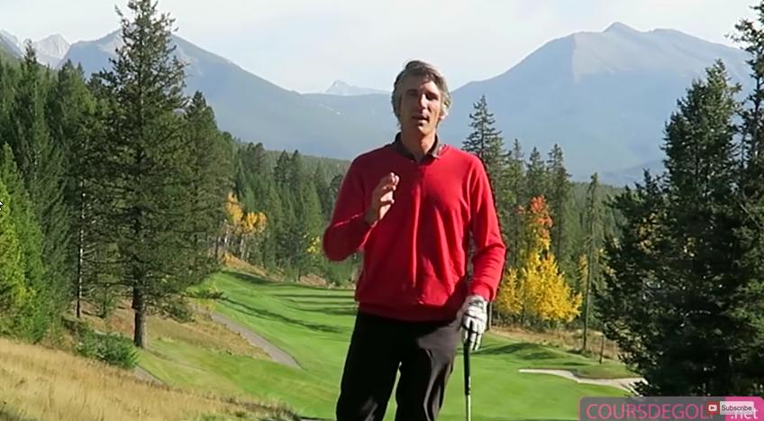 Le transfert de poids dans le swing de golf