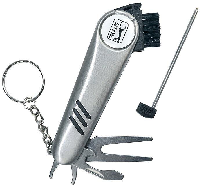 Porte-clés golf multi-fonctions PGA Tour pour le golf