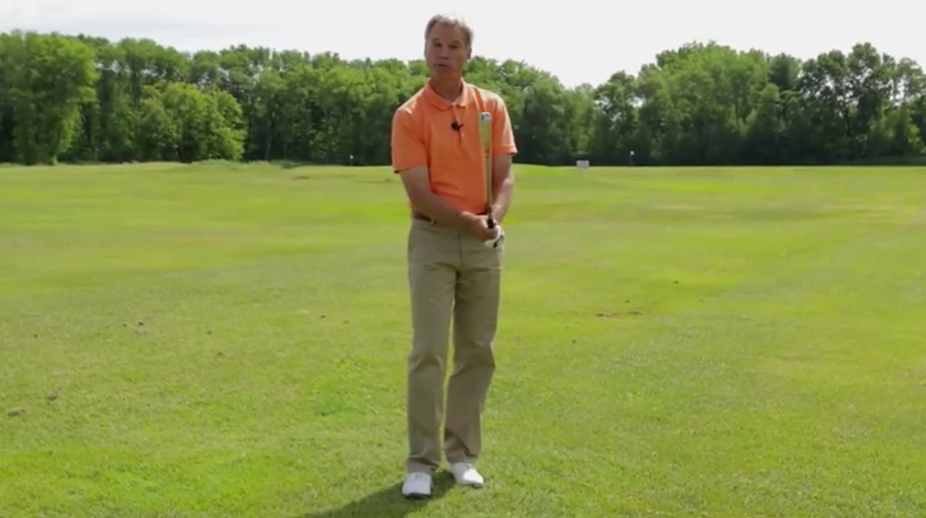 Leçon de golf sur l'importance de réaliser des coups d'essai