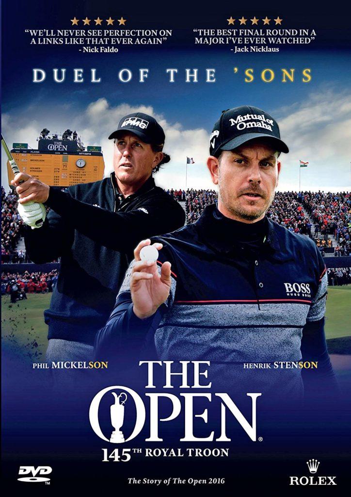 Le DVD du duel Mickelson vs. Stenson The Open 2016