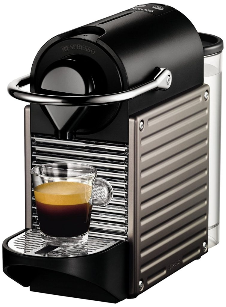Machine à café Nespresso Krups Pixie Titane