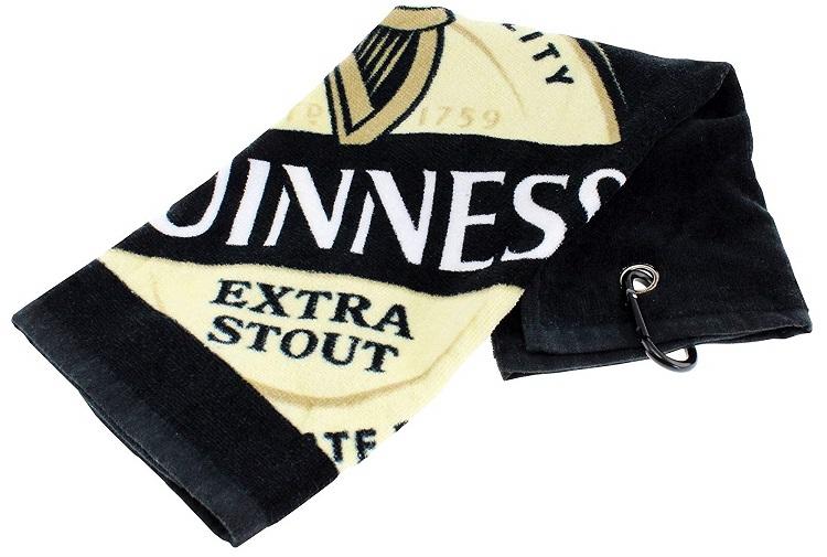 Serviette de Golf Guinness idée cadeau golfeur
